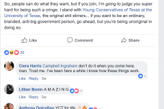 Harris FB Post