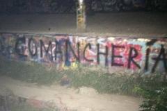 """""""Comancheria"""" graffiti"""