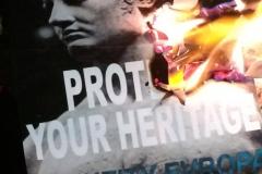 Burning Identity Evropa Posters